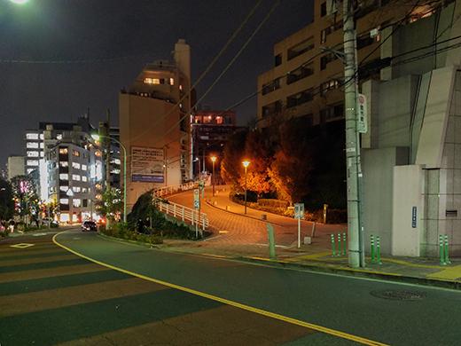 恵比寿ガーデンプレイスそばの坂道たち2
