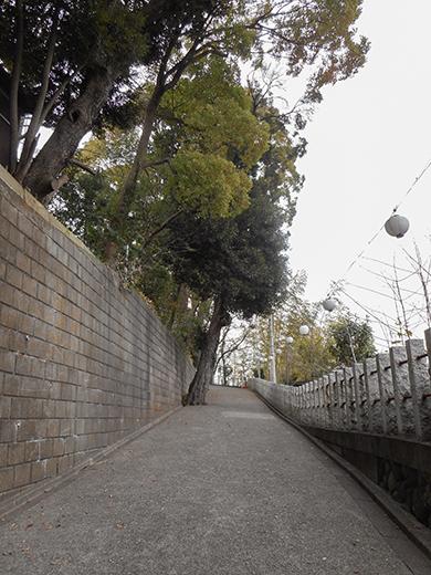 多摩川浅間神社の女坂かも?9