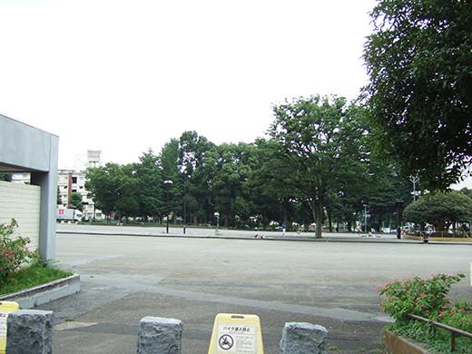 明治公園と国立に挟まれた無名坂2