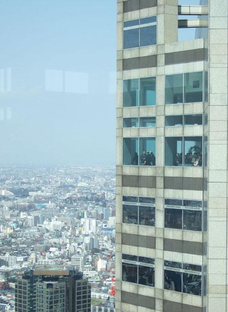 新宿の南側の眺め5