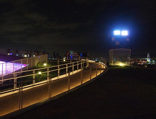スマートイルミネーション横浜で勾配さんぽ1