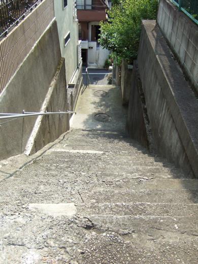 大田区山王3丁目の眺望階段2