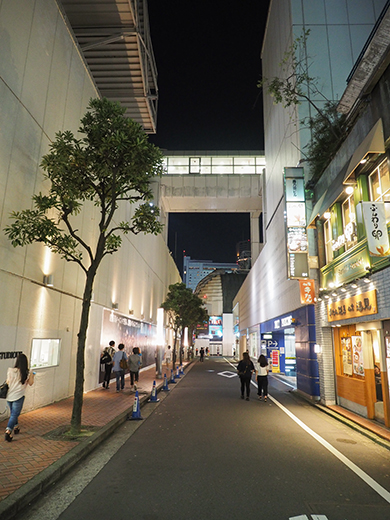 渋谷パルコから渋谷区役所へと上る坂道3