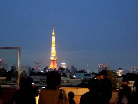 冬の東京タワー2