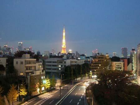 冬の東京タワー1