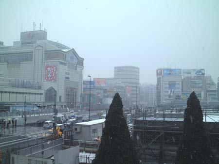 新宿雪景色2