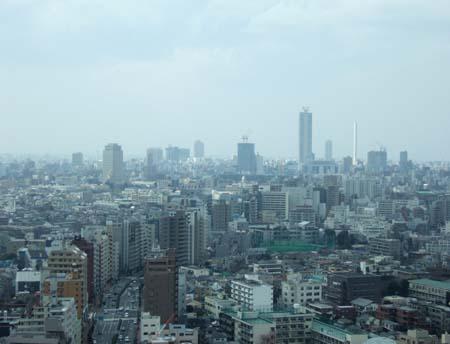 文京シビックセンターの展望台4