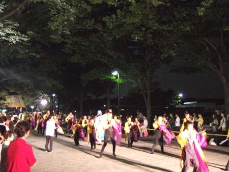 代々木公園のよさこい祭02