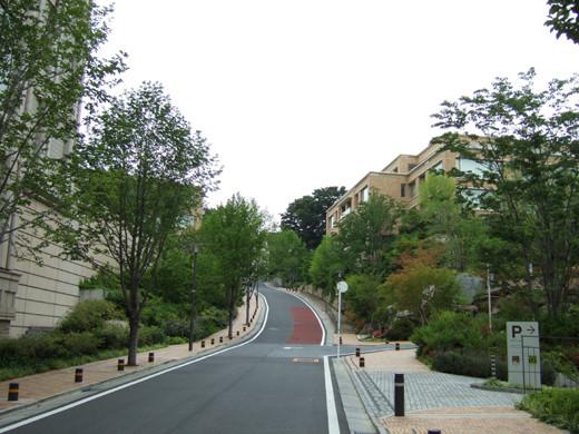 ソニー歴史資料館のある坂道2