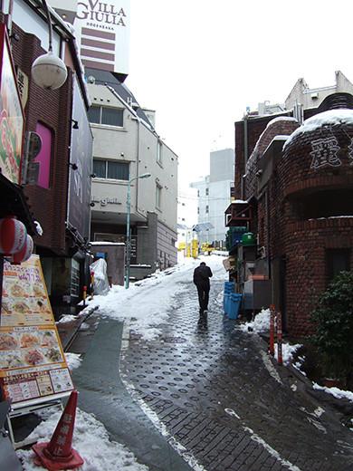 渋谷雪景2014_02