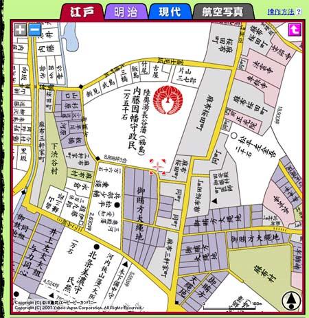 古地図_江戸