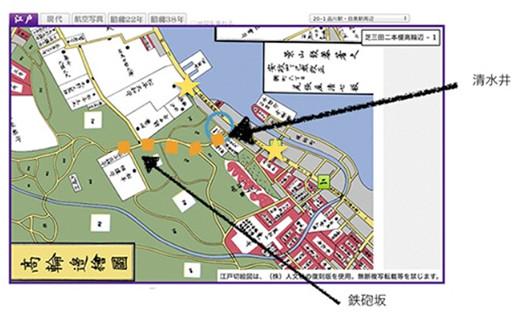 鉄砲坂その2_2古地図