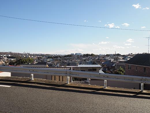 聖蹟桜ヶ丘の天守台(関戸城跡)の階段と坂道7