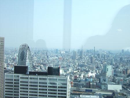 新宿の南側の眺め3