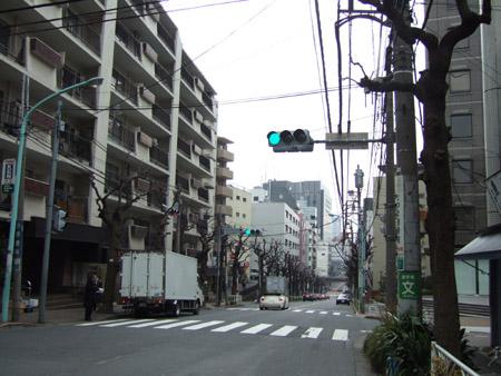 とある街の風景(八幡坂)1