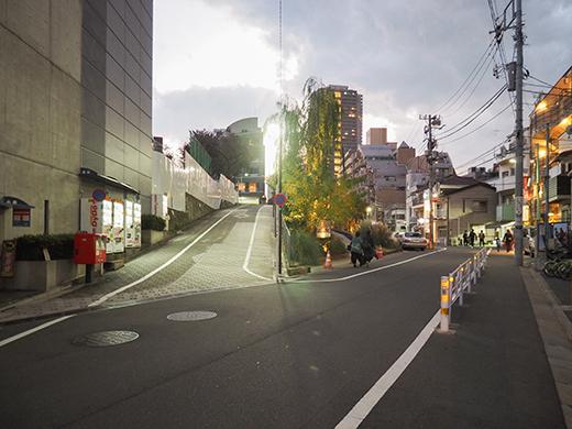 ログロード代官山横の坂道4