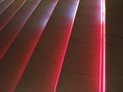 赤坂サカスの電飾階段2