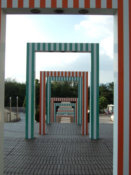 お台場海浜公園そばの謎の階段6