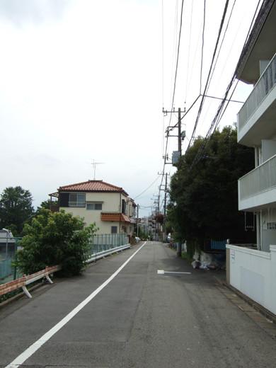 大田区立郷土博物館の北側にある眺望坂1