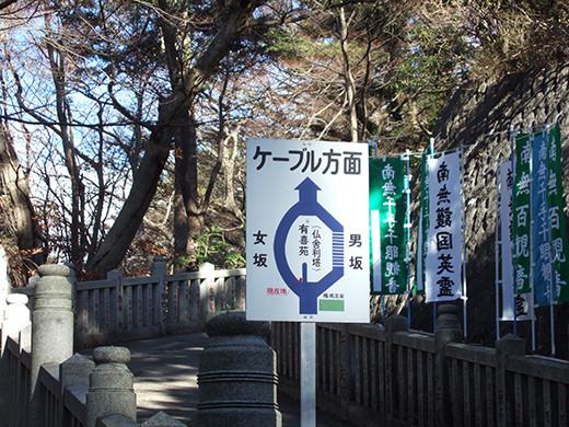 高尾山の女坂(NO.249)7