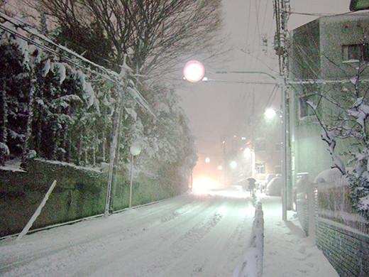 まさかの大雪1