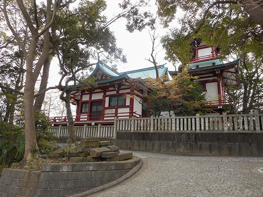 多摩川浅間神社の女坂かも?7
