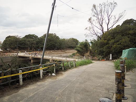 二子玉川の河川敷からの富士山と水害の記憶6