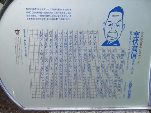 大田区山王の厳島神社へ下る階段6