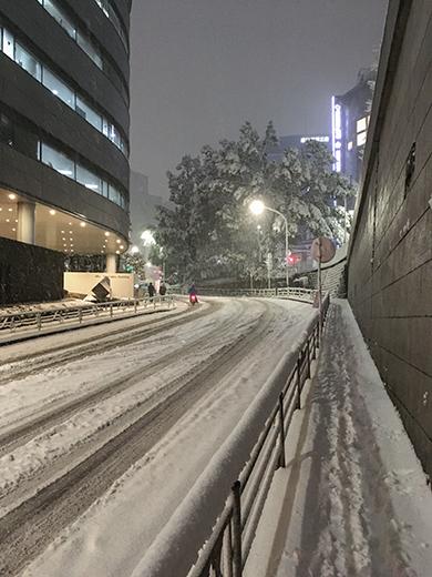 大雪の日の乃木坂3