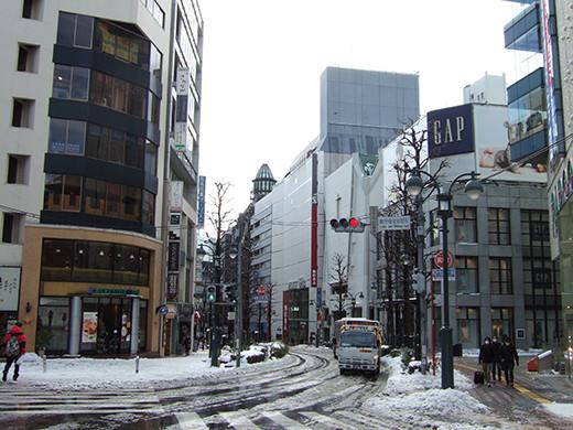 渋谷雪景2014_04