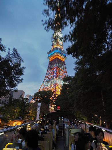 東京タワー界隈坂道めぐり@リコーTHETA+LINEトラベルjp4