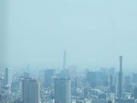 新宿の南側の眺め4