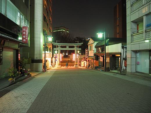 神田明神男坂の夜散歩4