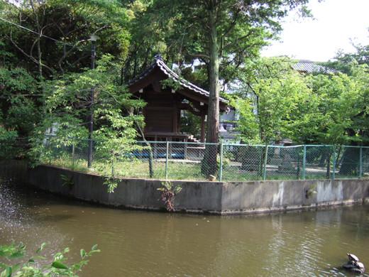 大田区山王の厳島神社へ下る階段5