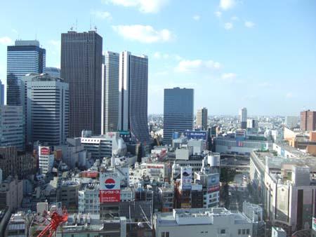 新宿のとあるビルからの眺め01