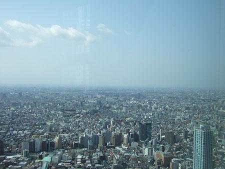 新宿の南側の眺め2