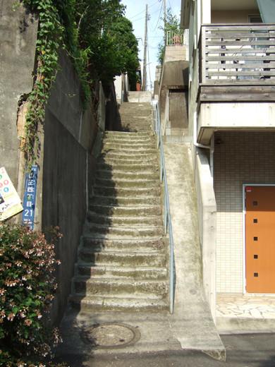大田区山王3丁目の眺望階段1