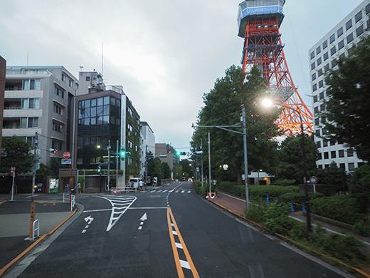 東京タワー界隈坂道めぐり@リコーTHETA+LINEトラベルjp2
