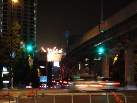 富士見坂から花火4