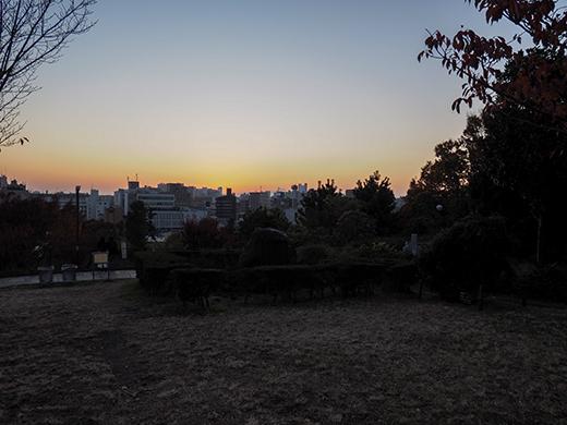 西郷山公園で富士山2