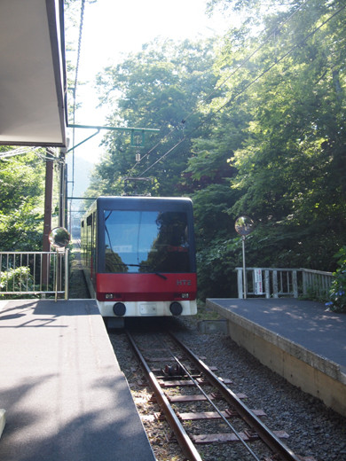 上強羅駅への坂道6