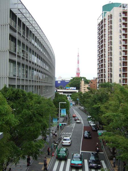 とある街の風景(六本木けやき坂通り)w