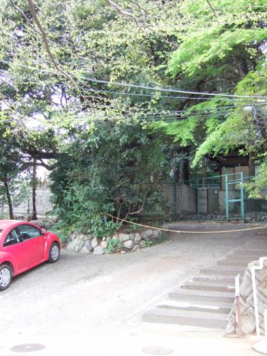 渋谷氷川神社のぐるぐるスロープ2