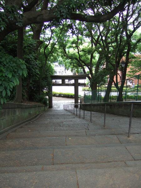 上野東照宮の男坂?3