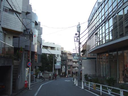とある街の風景(内記坂)