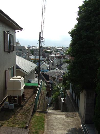 大田区山王3丁目の眺望階段6