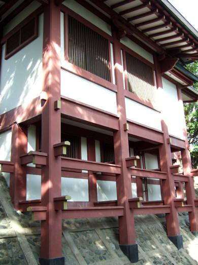子安八幡神社のスロープ9