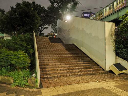 宮下公園にあった階段と橋8