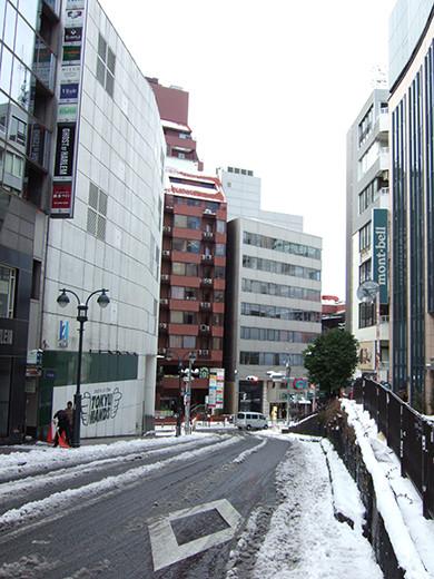 渋谷雪景2014_03