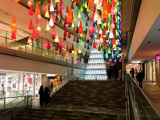 表参道ヒルズのクリスマスツリー2018-2